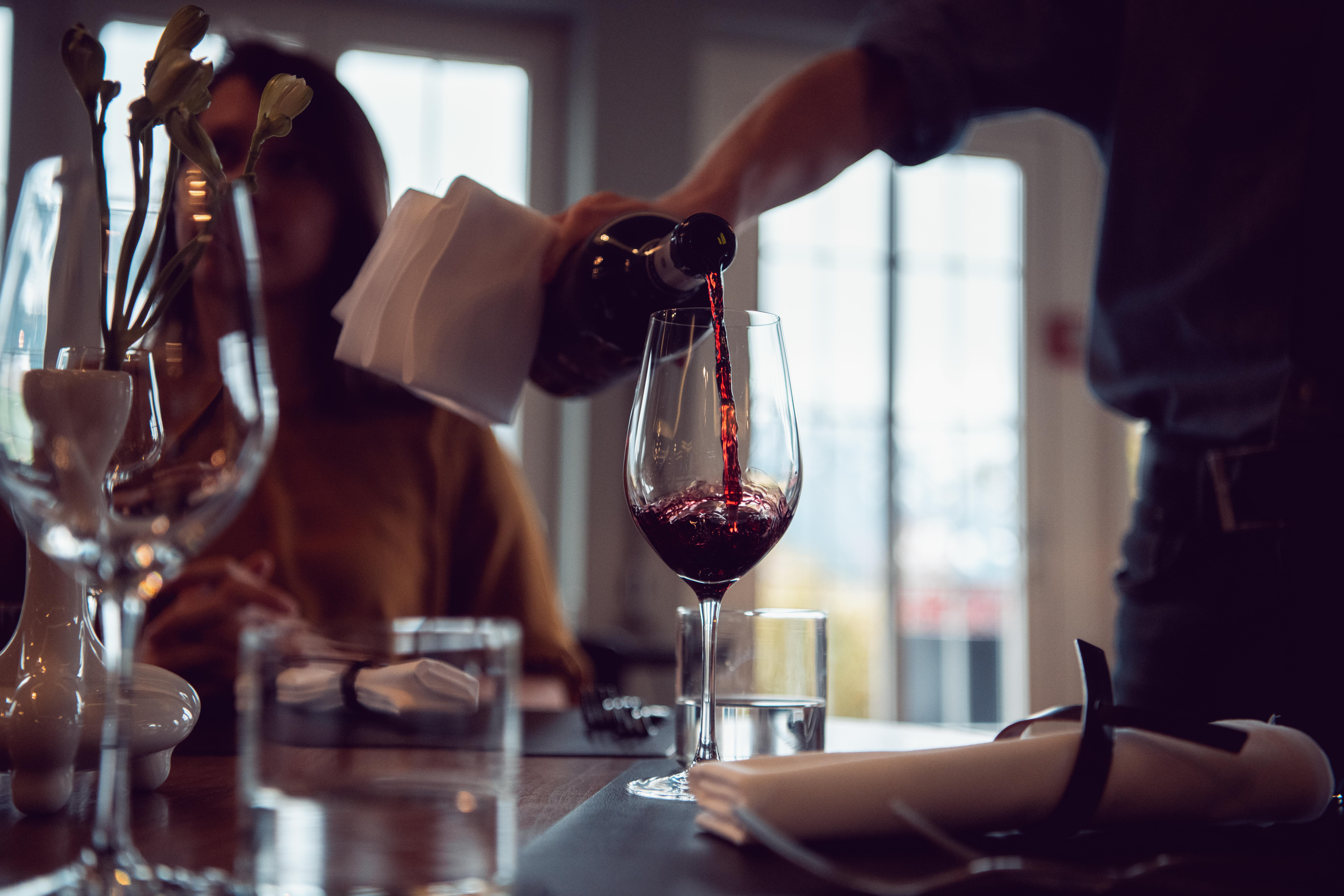Innovativo sistema di lista dei vini
